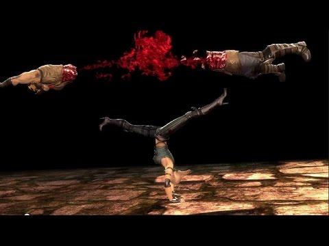 Sonya Blade Fatalities & Babality - Mortal Kombat 9 (2011) - 1080p 60fps