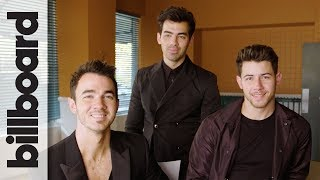 Download Jonas Brothers Joke About Pranking Each Other & Laugh at Their 2000s Haircuts | Billboard Mp3 and Videos