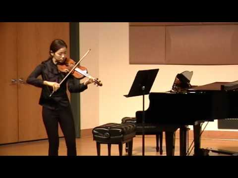 Eun-Young Jung J.S.Bach Sonata No1 in G minor Sicilienne