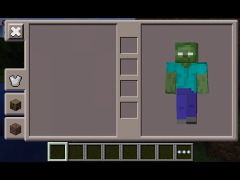Minecraft PE Zombie Herobrine Skin Costume Download YouTube - Skin para minecraft pe zombie