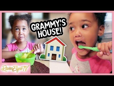 Ziya's Daily Routine at Grammy's House | GRAMMY VLOG