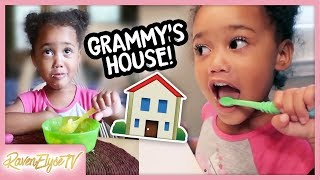 Ziya's Daily Routine at Grandma's House!