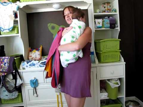 "PAXbaby Ring Sling instructions! How to ""Declan's Tummy"