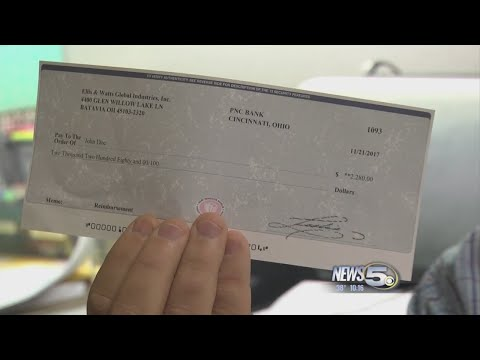 """Bogus Check"" Scam Busted"