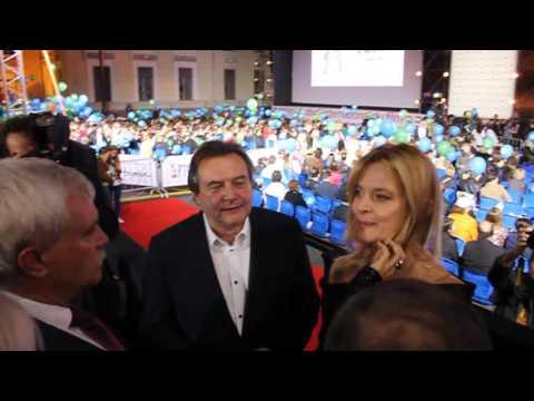 "NEW! Nastassja Kinski talks with the governor of St. Petersburg Georgy Poltavchenko-""Message to Man"""