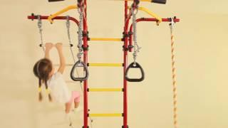 Шведская стенка РОМАНА Карусель R5 / Детский спортивный комплекс Карусель R5