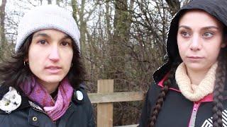 Rehana Sara baring witness outside a pig slaughterhouse | Deleted Vegan Video Archive #7