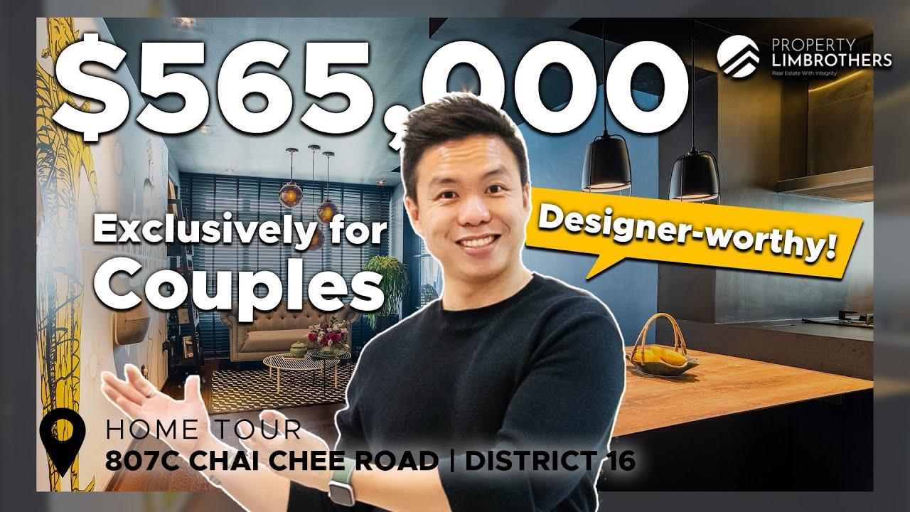 Singapore HDB | 3 Room HDB — Crazy reno for couples! ($565K, 807C Chai Chee Road)