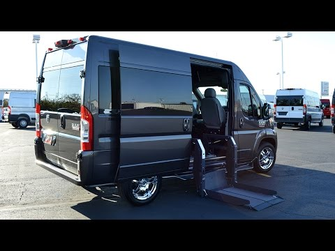 2015 RAM ProMaster Mobility Conversion Van   Paul Sherry Conversion Vans