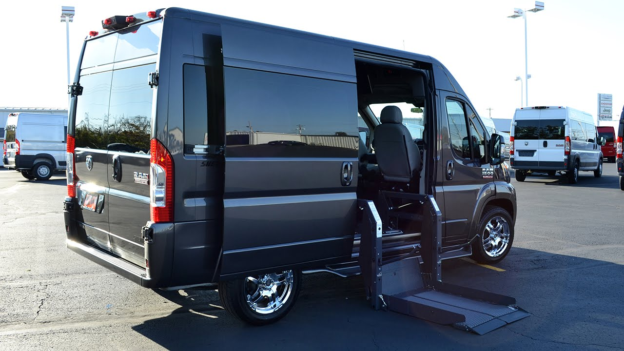 2015 RAM ProMaster Mobility Conversion Van