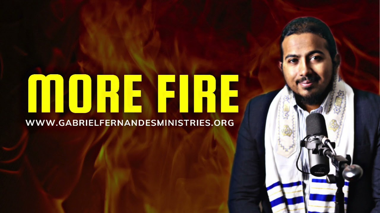 KEEP THE FIRE OF GOD ON YOUR LIFE BURNING, POWERFUL WORD & PRAYER WITH EVANGELIST  GABRIEL FERNANDES