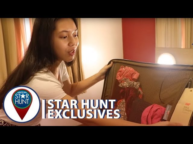 Luggage Raid with Kyzha Villalino | Star Hunt Exclusives