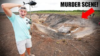 Found Human Remains in SINKHOLE While Fishing (15 Years Later!)
