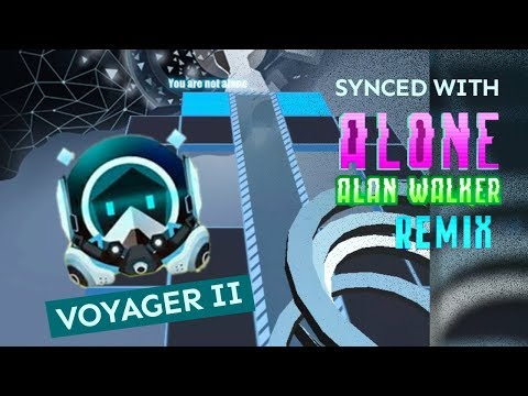 Rolling Sky - Alone Remix Extended With Alone (Alan Walker) Voyager II