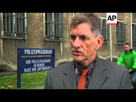 German police comment on Greek diplomat