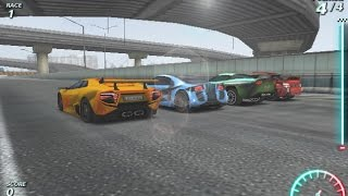 Play Online Split Second Wangan Car Racing Games