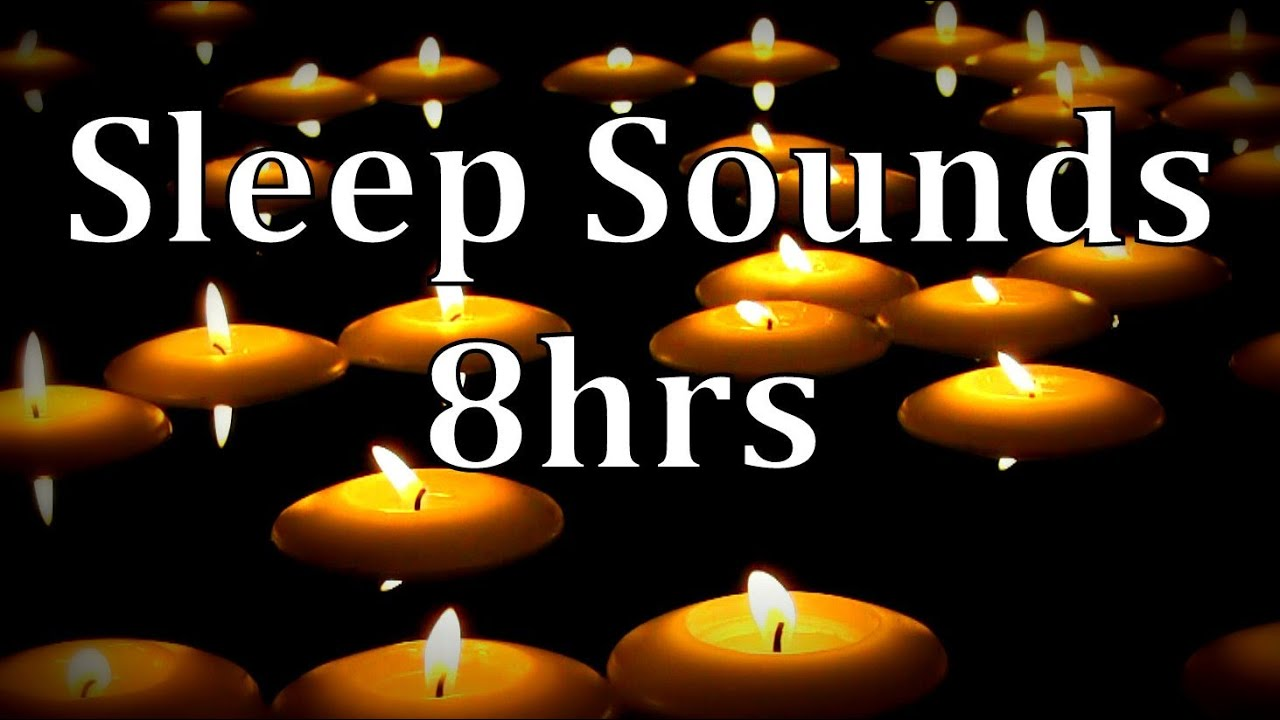 8hrs natural rain sounds with of floating candles get to sleep fast youtube. Black Bedroom Furniture Sets. Home Design Ideas