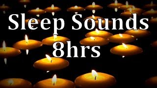 "8hrs ""Natural Rain Sounds"" with of Floating Candles ""Get to Sleep Fast"""