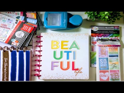 MICHAELS HAPPY PLANNER HAUL - EVERYTHING 60% OFF