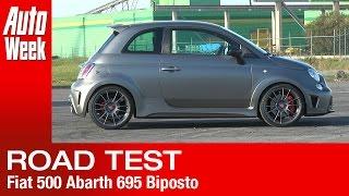 Fiat Abarth 695 Biposto 2014 Videos