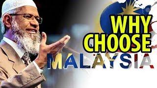 INI SEBAB Kenapa Dr Zakir Naik Pilih Malaysia