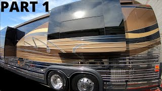 TRADED 2018 NEWMAR KING AIRE FOR 2008 PREVOST MARATHON COACH 1124