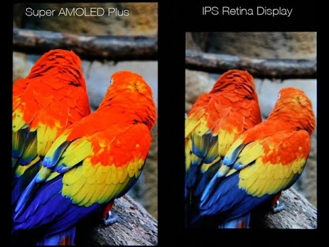 Download Youtube: Super Amoled vs IPS (Retina) Display Technology!