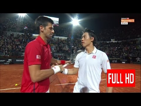 Novak Djokovic vs Kei Nishikori Rome 2016 Semi Final Highlights HD grigor