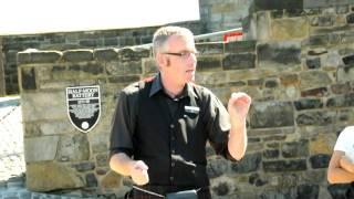 Edinburgh Castle funny guide