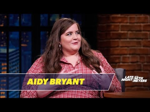 Aidy Bryant Shares an Emo Self-Portrait from High School