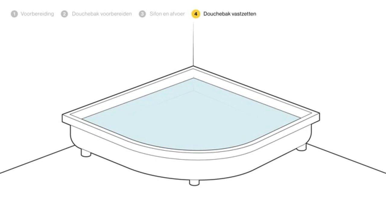 Beroemd Een hoge douchebak plaatsen - stap voor stap uitgelegd - Doe-het OJ71