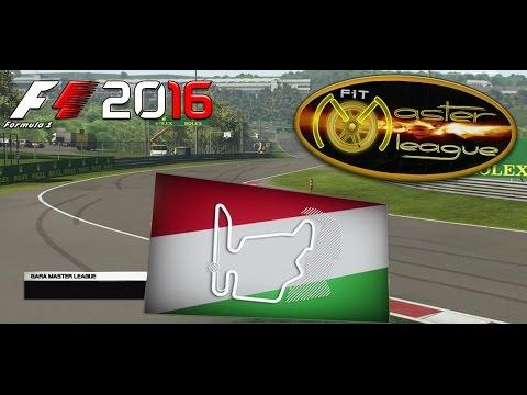 Master League F1 2016 #11 GP Hungary Hungaroring 26.01.17 - Live Streaming 1080p