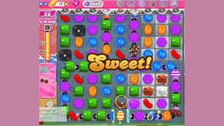 Candy Crush Saga Level 1697 - no boosters