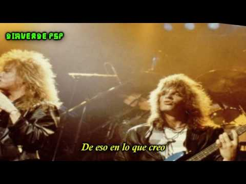 Europe- I'll Cry For You- (Subtitulado en Español)