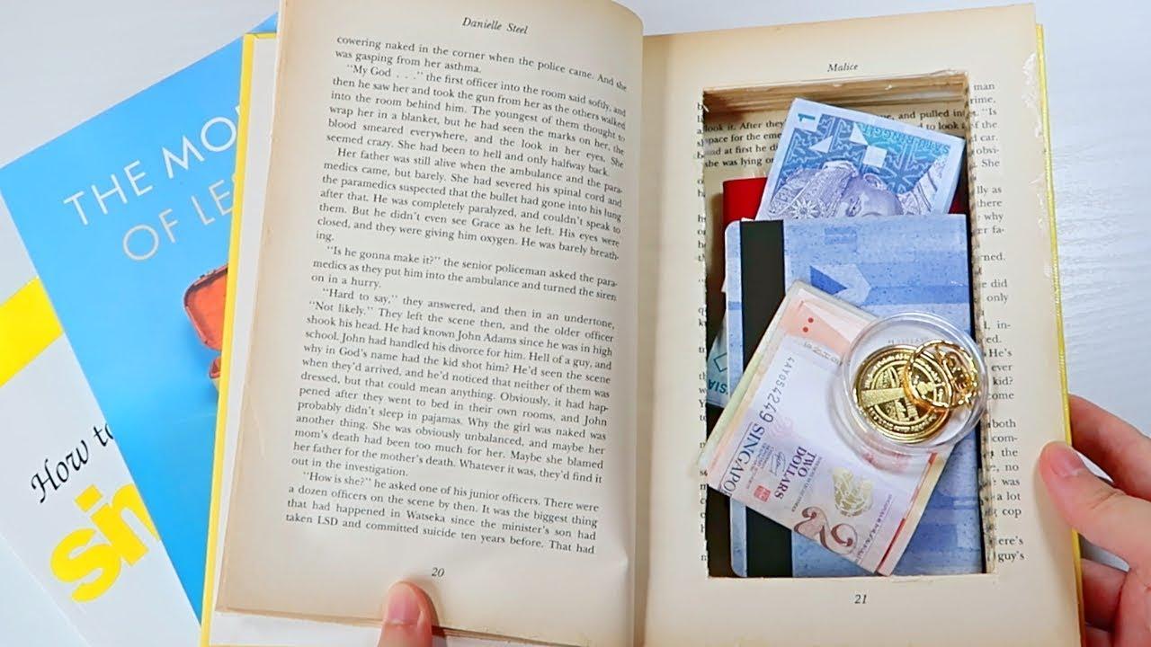 Diy Secret Stash Book Safe