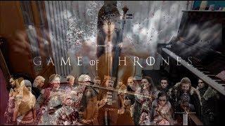 Game of Thrones - Cello Cover 《冰與火之歌:權力遊戲》主題曲 (大提琴一人樂團)