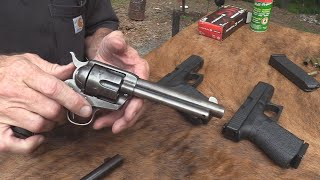Colt SAA VS Glock Pistol