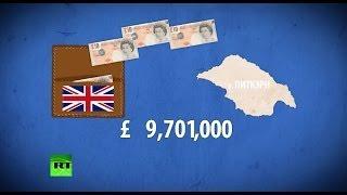 Британия тратит миллионы фунтов на содержание 50 человек в Тихом океане