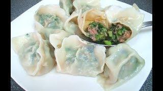茴香饺子 -- 百吃不厌的家常美味
