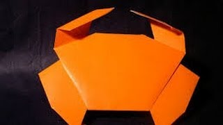 How To Make An Origami Crab