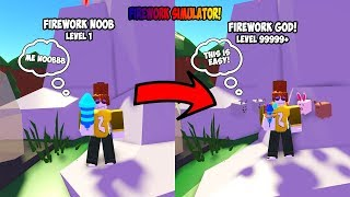 *NEW* COOL FIREWORK SIMULATOR! - ROBLOX