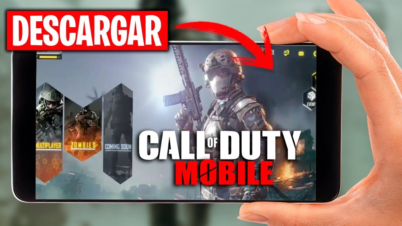✅¡DESCARGAR COD MOBILE! CALL OF DUTY LEGEND OF WAR APK *ANDROID*  #Smartphone #Android