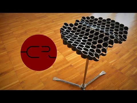 DIY personal fit steel pipe stool