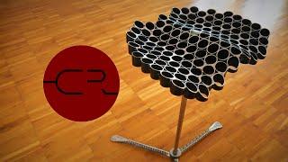 DIY personal fit steel pipe stool