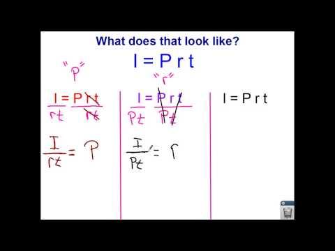 CCSS 7.RP.3 - video 5 - Simple Interest Part 1