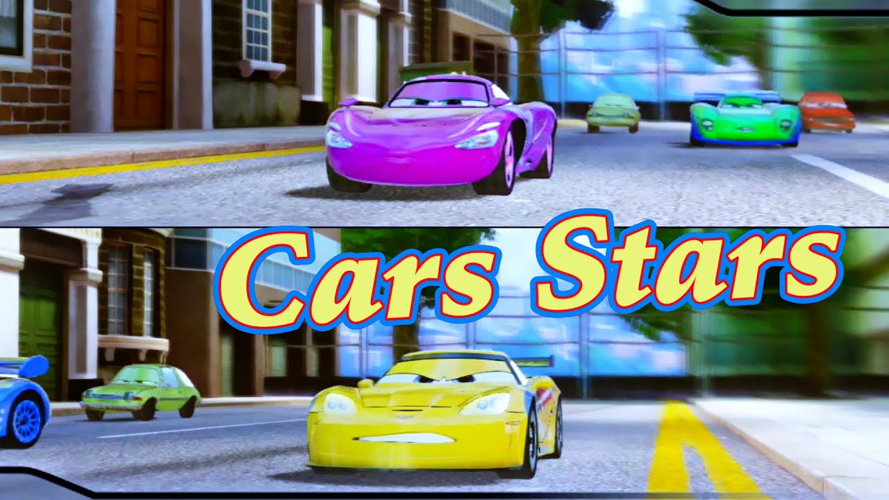 Cars 2 Game Play Jeff Gorvette Versus Holley On Hyde Tour Youtube