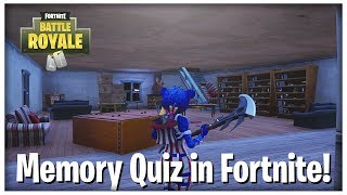 Memory Quiz in Fortnite! (Seedoh's Creative Map)