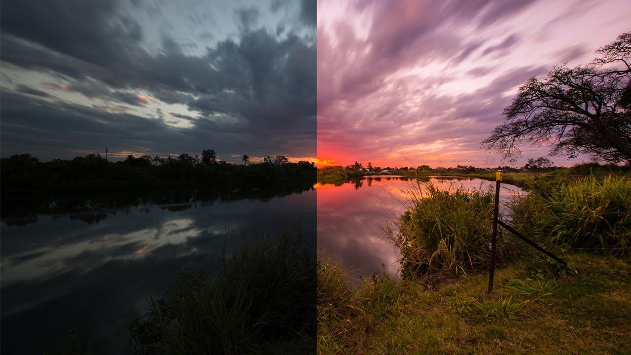 Adobe Lightroom 4 - Editing Sunset    Sunrise Photos