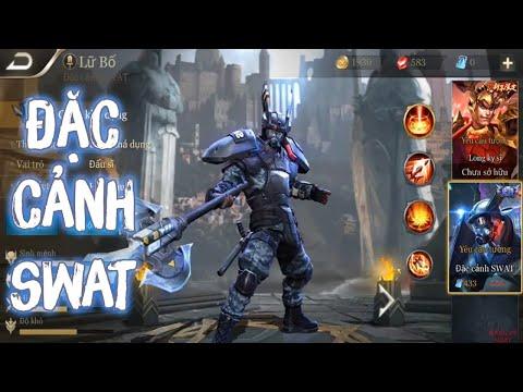 Đặc nhiệm SWAT Lữ Bố ép đường win lane là dễ!!!