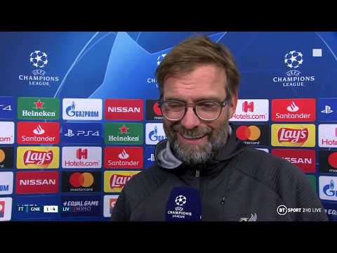 Jurgen Klopp laughs off unwanted stat after Liverpool beat Genk in Belgium